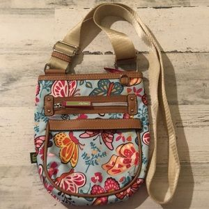 LILY BLOOM butterfly crossbody bag